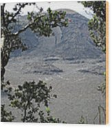Kilauea Iki Crater - Big Island Wood Print