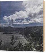 Kilauea Iko Wood Print