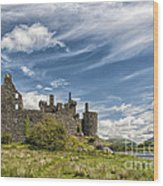 Kilchurn Castle 01 Wood Print
