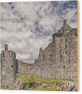 Kilchurn Castle 02 Wood Print