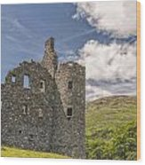 Kilchurn Castle 03 Wood Print