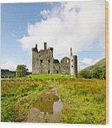 Kilchurn Castle 2 Wood Print