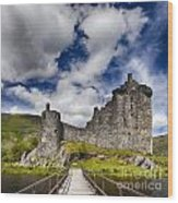 Kilchurn Castle Scotland Wood Print