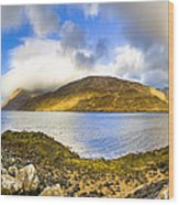 Killary Fjord - Irish Panorama Wood Print