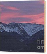 Killian's Sunrise Wood Print