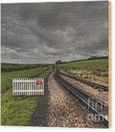Killington Lane Wood Print