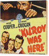 Kilroy Was Here, Us Poster, Jackie Wood Print