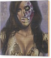 Kim Kardashian - They Live Wood Print