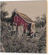 Kimberton Mill  Chester County Pa Wood Print