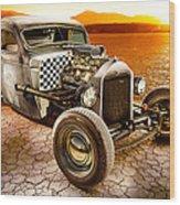 Millers Chop Shop 1946 Chevy Truck Wood Print
