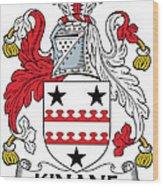 Kinane Coat Of Arms Irish Wood Print