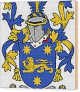 Kindelan Coat Of Arms Irish Wood Print
