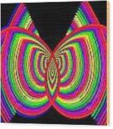 Kinetic Rainbow 27 Wood Print