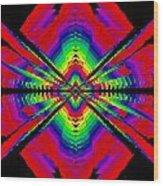 Kinetic Rainbow 44 Wood Print
