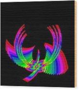 Kinetic Rainbow 49 Wood Print