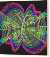 Kinetic Rainbow 55 Wood Print