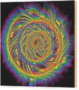Kinetic Rainbow 60 Wood Print