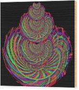 Kinetic Rainbow 67 Wood Print