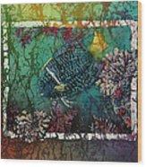 King Angelfish Wood Print