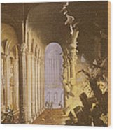 King Asa Of Judah Destroying The Statue Wood Print by Francois de Nome