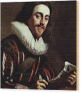King Charles I Of England (1600-1649) Wood Print