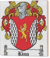 King Coat Of Arms I Dublin  Wood Print