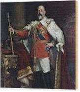 King Edward Vii Of England (1841-1910) Wood Print