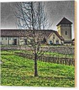King Estate Winery Wood Print