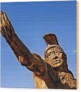 King Kamehameha Wood Print