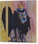 King Moonracer Wood Print