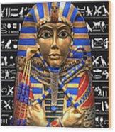King Of Egypt Wood Print