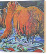 King Of The Fishes Wood Print