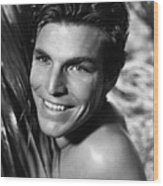 King Of The Jungle, Buster Crabbe, 1933 Wood Print