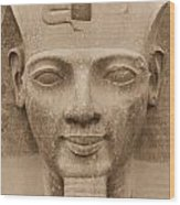King Ramses II  Wood Print