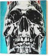 King Til Death Wood Print