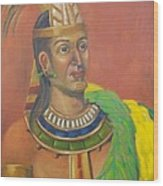 King Topiltzin Wood Print