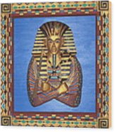 King Tut - Handcarved Wood Print