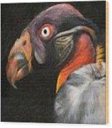 King Vulture - Impasto Wood Print