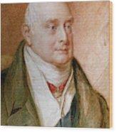 King William Iv Of England (1765-1837) Wood Print