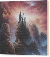 Kingdom Of Stone Wood Print