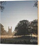 King's At Dawn Wood Print