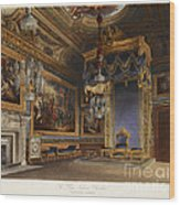 King's Audience Chamber, Windsor Castle Wood Print