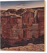 Kings Canyon V13 Wood Print