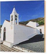 Kings' Chapel On Hierro Wood Print