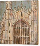 Kings College Chapel Wood Print