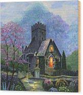 King's Garden Wood Print