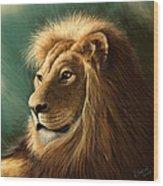 King's Glory Wood Print