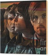 Kings Of Leon Wood Print