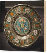 King's Plate Wood Print