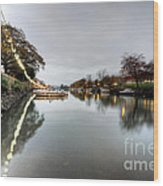 Kingsbridge Reflections  Wood Print